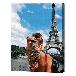 Каникулы в Париже, 40х50 см, картина по номерам Артукул: GX36151