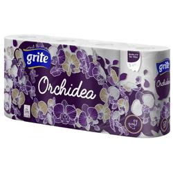GRITE - Туалетная бумага ORCHIDEA GOLD 3 слоя 8 рулона 21,25м