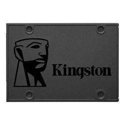 2,5-дюймовый твердотельный накопитель SATA 120 ГБ Kingston A400 «SA400S37 / 120G» [R / W: 500/320 МБ / с, Phison S11, 3D NAND TLC]