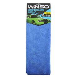 Laveta microfibra WINSO 40*40cm albastra 150300