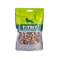 TiT BiT Косточки с индейкой и творогом 145 gr