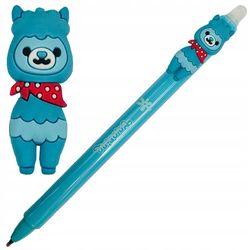 Автоматическая шариковая ручка Colorino стираемая синяя 0,5 мм Лама