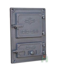 Дверца чугунная глухая правая DPK4R