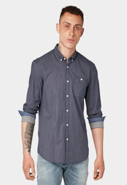 Рубашка TOM TAILOR Серый 1015844 tom tailor
