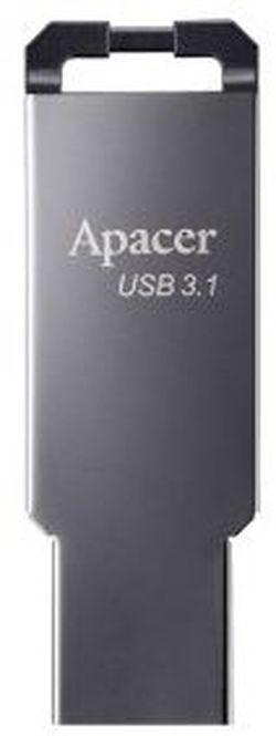 USB Flash Drive Apacer AH360 64Gb Black Nickel (AP64GAH360A-1)