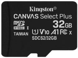 Сard de memorie Kingston microSD 32Gb Class10 A1 UHS-I  Kingston (SDCS2/32GBSP)