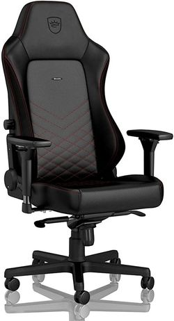 Gaming Chair Noble Hero NBL-HRO-PU-BRD Black/Red