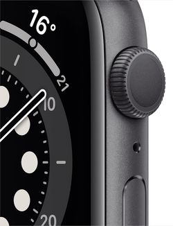 Smartwatch Apple Watch Series 6 GPS 44mm Space Gray Aluminum Case (M00H3)