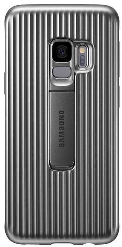 cumpără Husă pentru smartphone Samsung EF-RG960, Galaxy S9, Protective Standing Cover, Silver în Chișinău