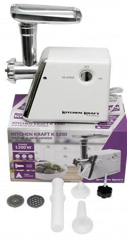 Maşina de tocat carne Kitchen Kraft K1200 Profy Set