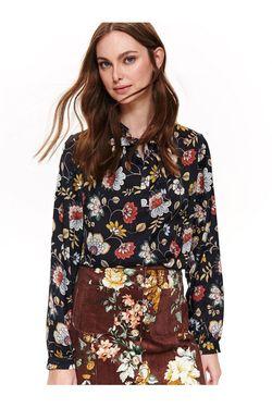 Блуза TOP SECRET Черный с принтом sbd1142