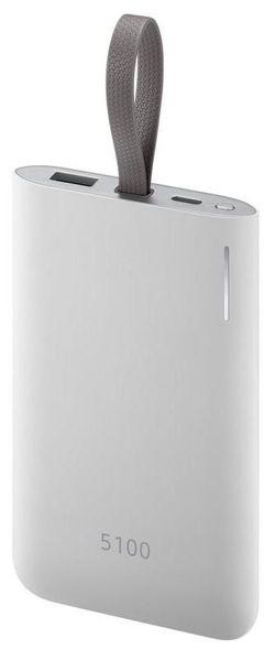 купить Аккумулятор внешний USB (Powerbank) Samsung Power Bank EB-PG950, 5100 mAh, Silver в Кишинёве