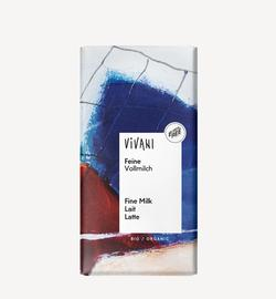 Молочный шоколад bio Vivani 80г