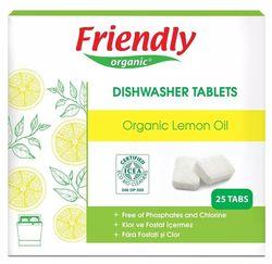 cumpără Detergent mașina de spălat vase Friendly Organic 471864 Органические таблетки с натуральным экстрактом лимона(1864) în Chișinău