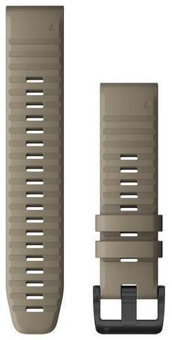 cumpără Accesoriu pentru aparat mobil Garmin QuickFit fenix 6 22mm Dark Sandstone Silicone Band în Chișinău