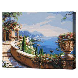 Priveliște spre golf, 40х50 cm, pictură pe numere  BS7615
