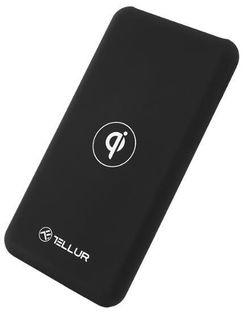 cumpără Acumulatoare externe USB Tellur TLL158201 Qi wireless Black, 10000mAh în Chișinău