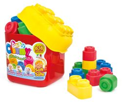 Constructor Soft Cubes Bucket 20 piese Cod 14741