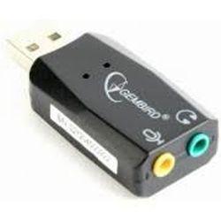 Placă de sunet Gembird SC-USB2.0-01, USB, prize 2x3,5 mm: ieșire stereo, intrare mono microfon