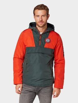 Geaca Tom Tailor Roșu portocaliu / verde închis tom tailor 1013759