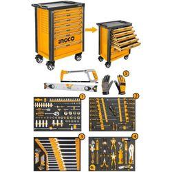Набор инструментов в шкафе/органайзер 162 шт INGCO HTCS271621
