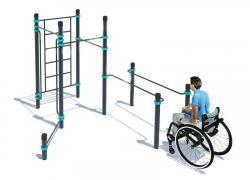 Спортивный комплекс PD-04 для инвалидов-колясочников