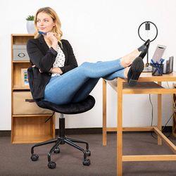 Офисное кресло Deco BX-3030 Black/Yellow
