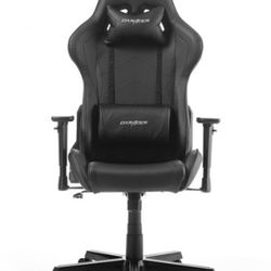 Gaming Chair DXRacer Formula GC-F08-NN, Black/Black, User max loadt up to 150kg / height 145-180cm