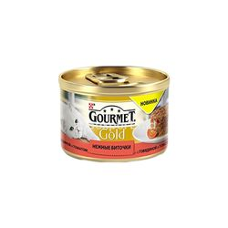Gourmet Gold c говядиной и томатами 85 gr