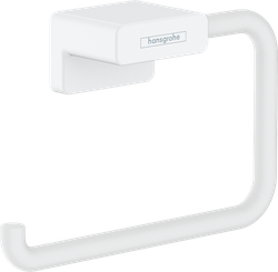 AddStoris Suport pentru hartie igienica, alb mat