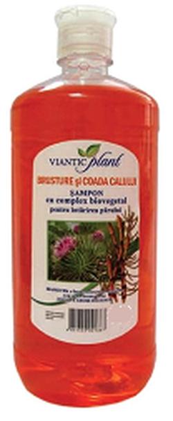 Шампунь с биоактивным комплексом PLANT лопух и хвощ полевой