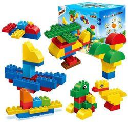 купить Игрушка BanBao 9521 Creatable blocks - 155 blocks в Кишинёве