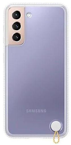 cumpără Husă pentru smartphone Samsung EF-GG991 Clear Protective Cover White în Chișinău