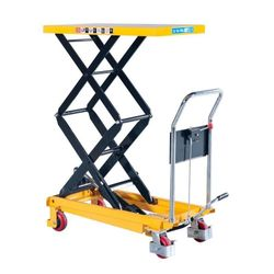 Ручной погрузчик для работы на высоте, максимальная высота 150kgs, inaltimea de operare 210-720mm, marimea platformei 700x450mm