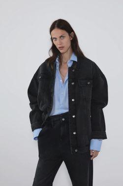 Куртка ZARA Чёрный 4979/222/800