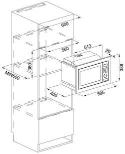 Cuptor cu microunde incorporabil Franke FMW 250 CR2 G BK