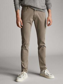 Pantaloni Massimo Dutti Gri 0031/031/706
