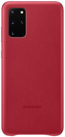 купить Чехол для моб.устройства Samsung EF-VG985 Leather Cover Red в Кишинёве