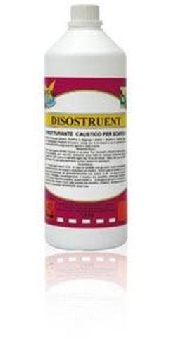 DISOSTRUENT, жидкое средство для пробивки канализации, 1.4кг.