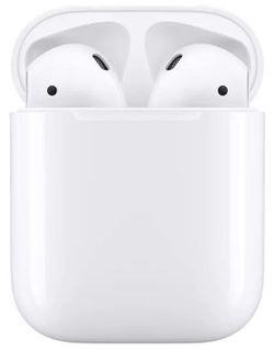 купить Наушники беспроводные Apple AirPods 2 with Charging Case White (MV7N2) в Кишинёве