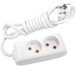купить Удлинитель электрический Viko 112202 Multi-Let 2 гнезда б/з 2м (16A) в Кишинёве