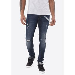 Брюки KAPORAL Синий Kaporal PIXELE JEAN SLIM DENIM BLUE