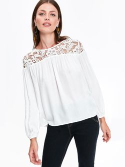 Блуза TOP SECRET Белый sbd0945