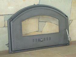 Дверца чугунная со стеклом левая DCHD3