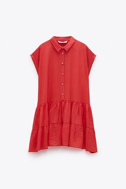 Платье ZARA Красный 3564/072/712
