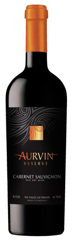 Vin Reserve Cabernet Sauvignon Aurvin, sec roșu,  0.75 L
