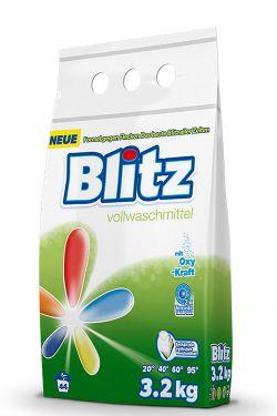 Praf pentru spalarea rufelor Blitz 3.2 kg (universal)