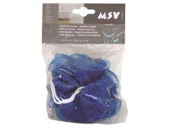 Мочалка для тела шар MSV синяя