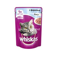 Whiskas рагу из форели