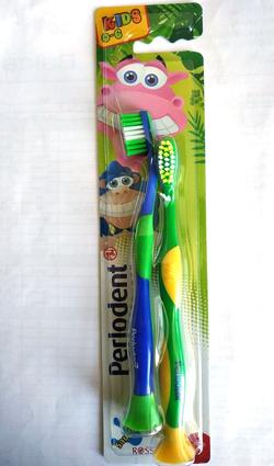 Periuța de dinți pentru copii Perlodent KIDS - Duo